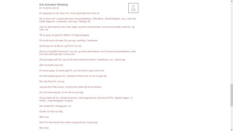 mer nettmobbing ikke skrevet 2 november