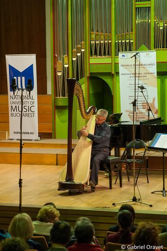 Festivalul de Harpă 2016, Recital Maria Bîldea & Sergiu Nastasa | Ion Ivan Roncea & invitații | Bucharest Harp Festival