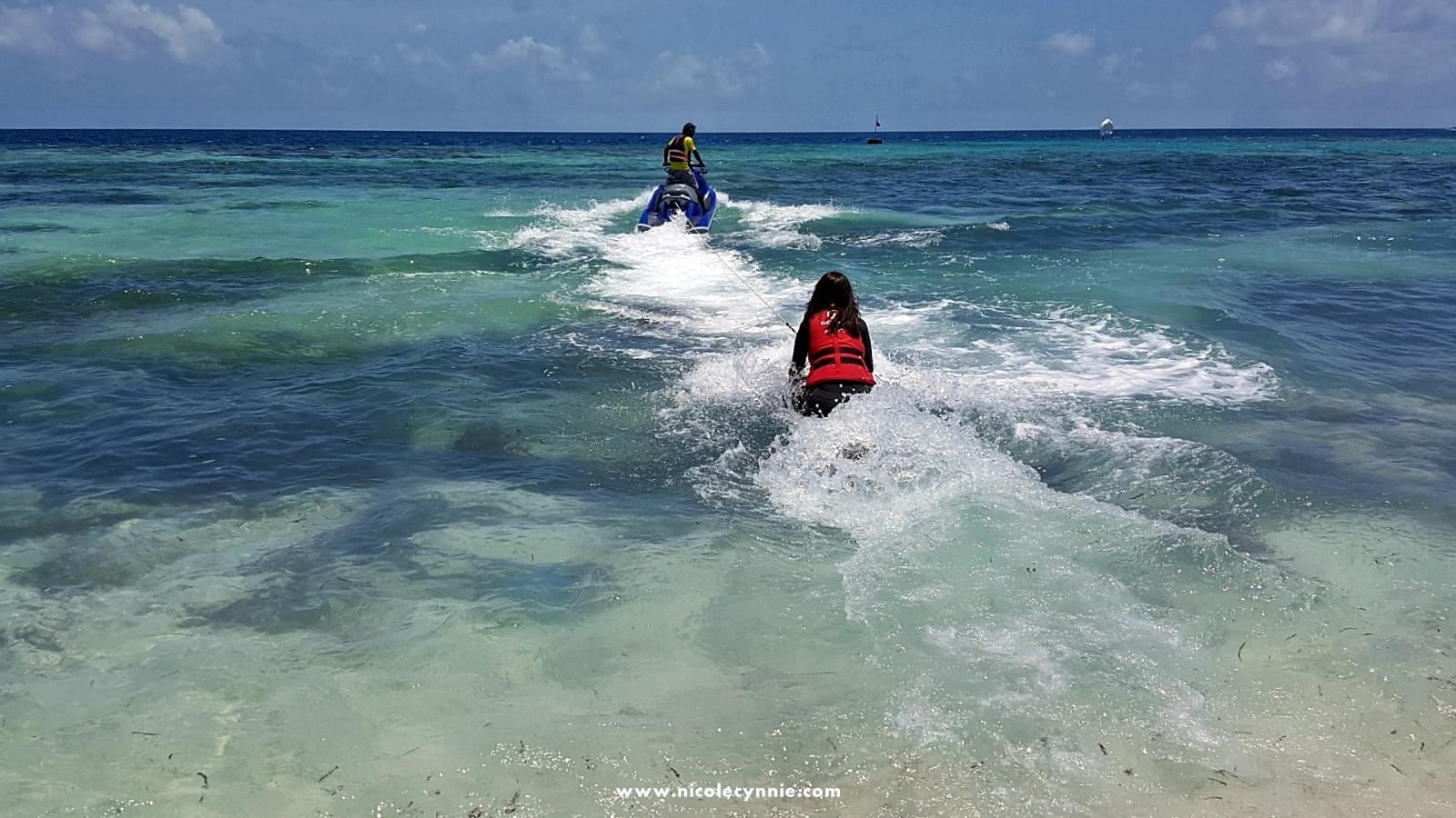 Maafushi_Knee Boarding 2