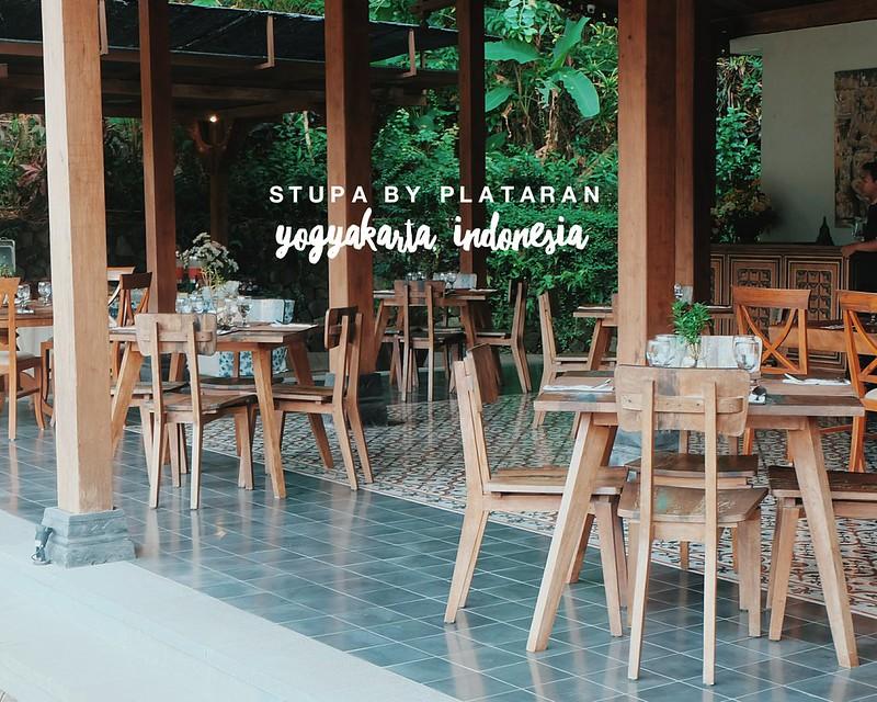 Breakfast at Stupa by Plataran, Yogyakarta Indonesia