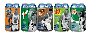 7-Up Dream Team 20th anniversary Collector Cans (2012) | by Paxton Holley