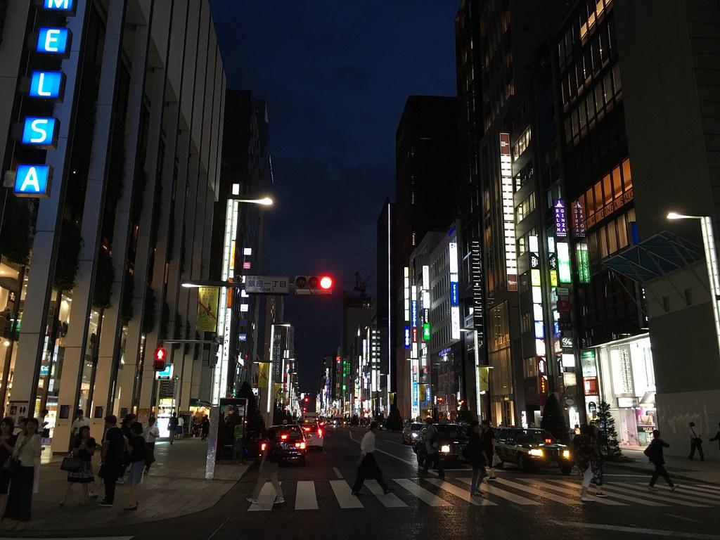 浅草,东京:银座
