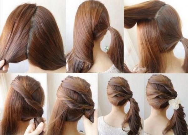 Tết tóc một bên