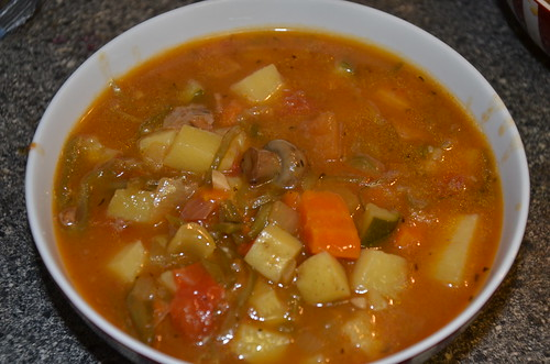 vegetable and beef soup Nov 16