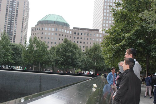 Class of 2017 Visit to National 9/11 Memorial Museum