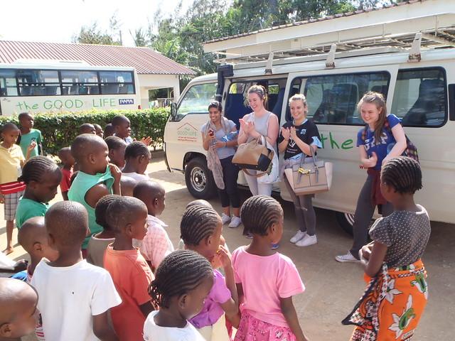 Karibu Nima, Tracy, Cathryn & Roisin to The GLO