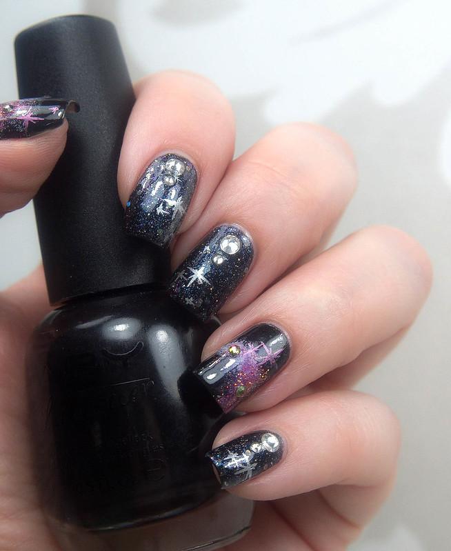 Galaxy Nail Art galaksikynnet