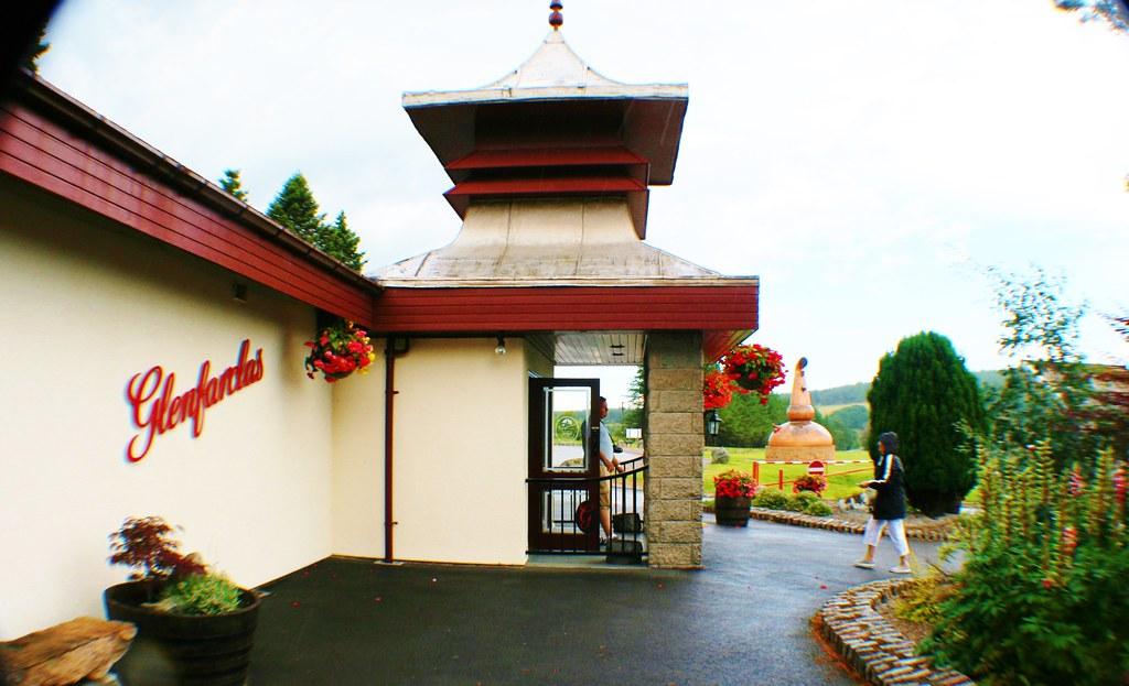 Glenfarclas Visior Centre, Speyside, Scotland