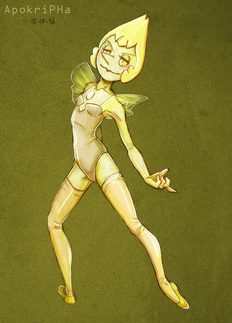 Yellow Diamond's Pearl