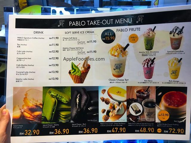 Pablo-menu
