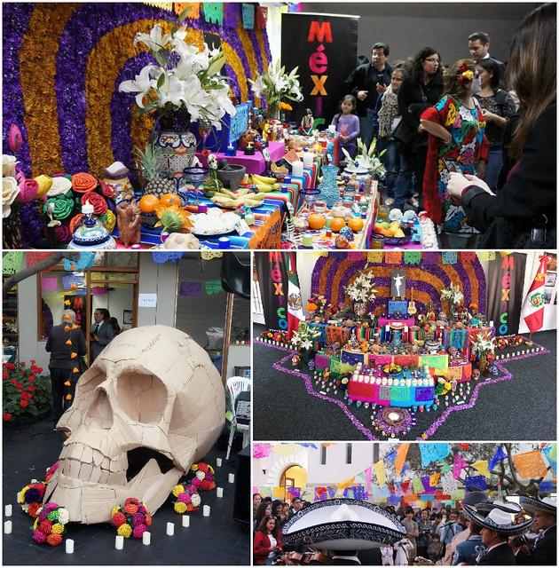 Celebración del Día de Muertos en la Casa de la Cultura de San Isidro, Lima