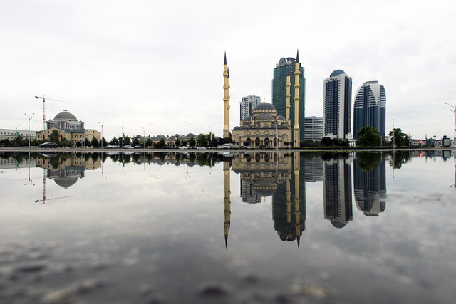 Downtown Grozny, Chechnya