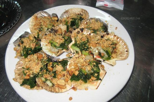 xo foodie tour baked scallops