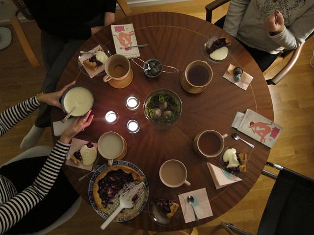 wednesday, meeting with my book club, bokbönorna, helsingborg