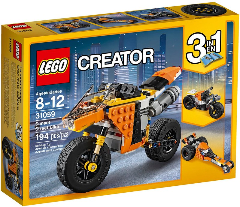 LEGO Creator 2017 - Sunset Street Bike (31059)