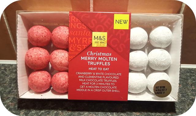 M&S Merry Molten Truffles