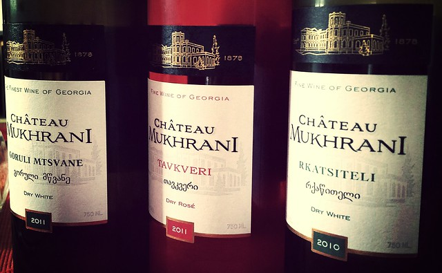 Chateau Mukhrani Georgian wine tasting