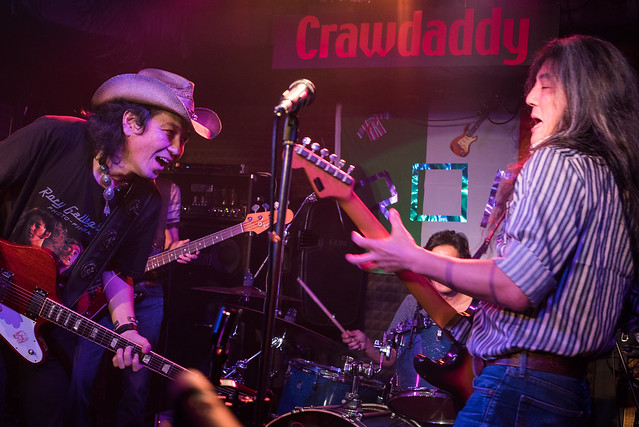 Rory Gallagher Tribute Festival - jam session at Crawdaddy Club, Tokyo, 22 Oct 2016 -00375