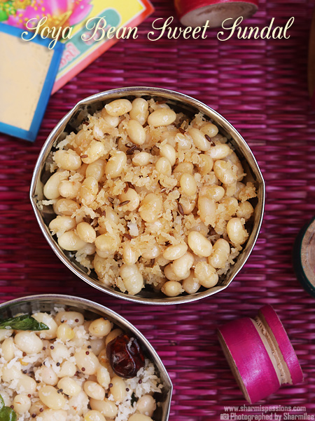 Soya Bean Sundal Recipe