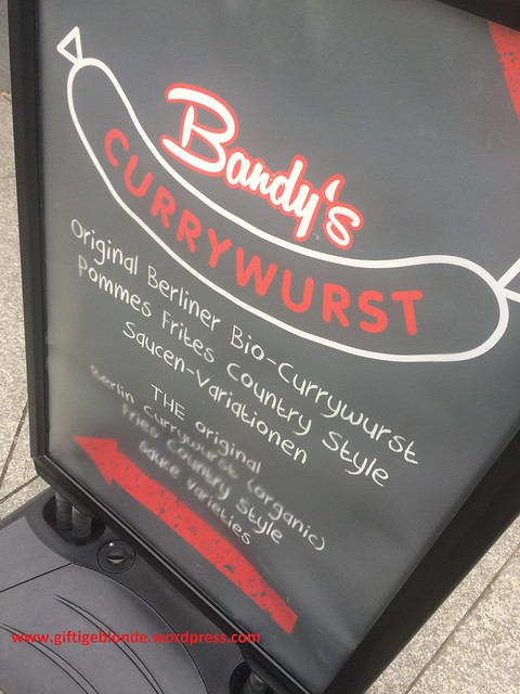 Bandy's bio Currywurst