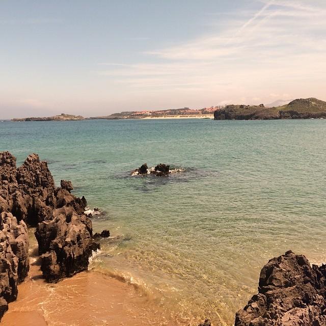 #vscocam isla #cantabria usando #rayban como filtro