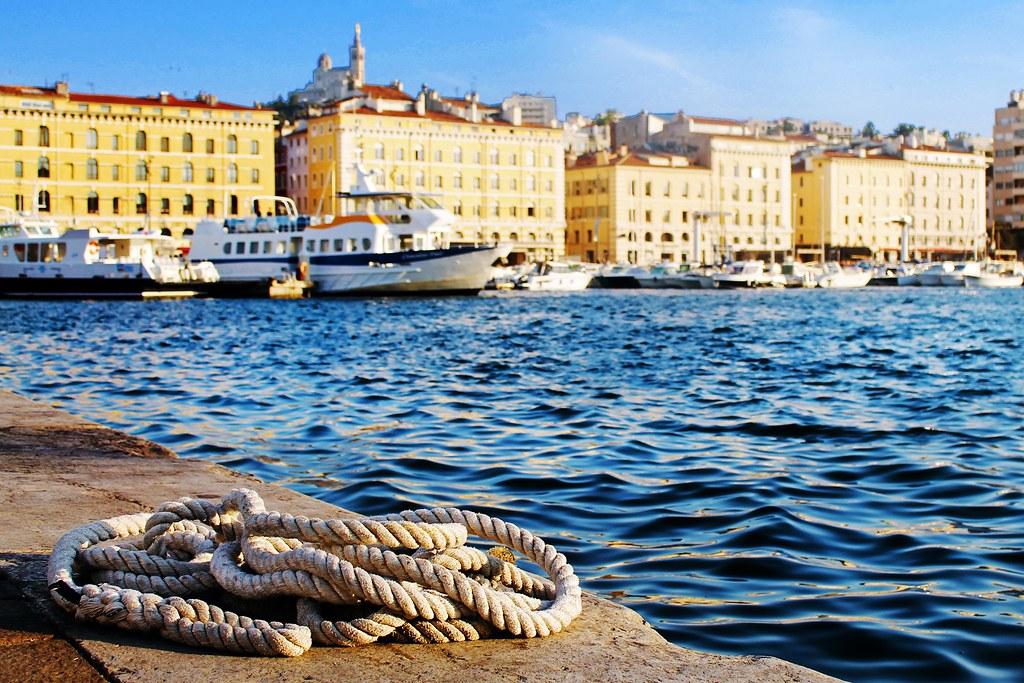 Drawing Dreaming - roteiro Provença - visitar Marselha - Vieux Port