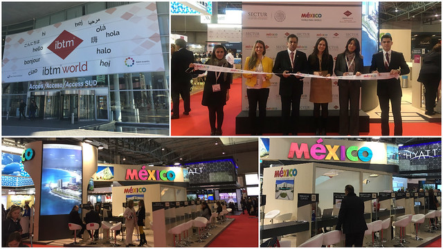 México participó en la Feria The Global Meeting and Events Exhibition