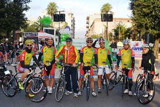 Noicattaro. Manifestazione ciclistica front
