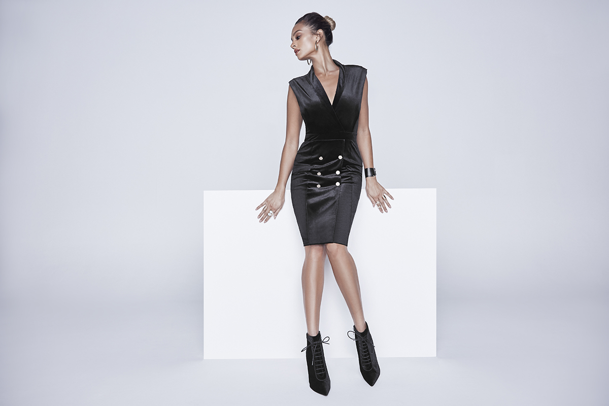 Alesha_Dixon_Velvet_Tux_Black_Dress_£79_LittleBlackDress.co.uk-1