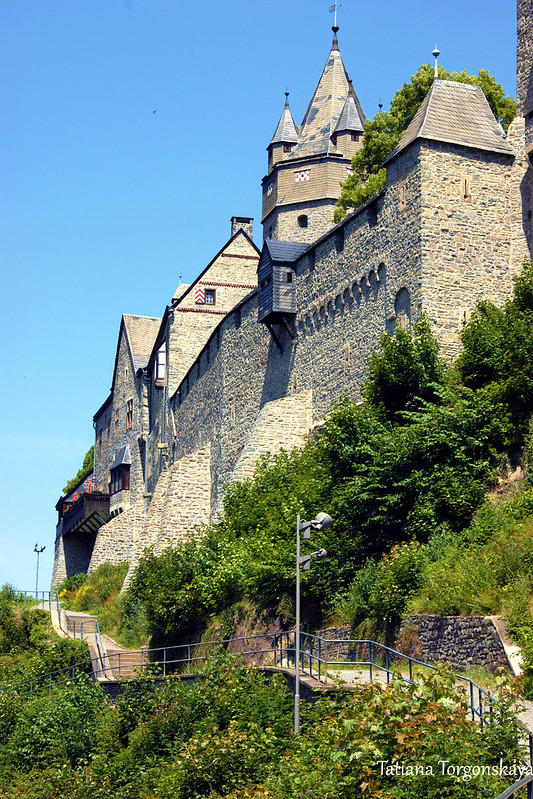 Западная сторона крепости