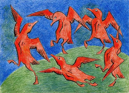 Seagulls' Dance / Танец чаек