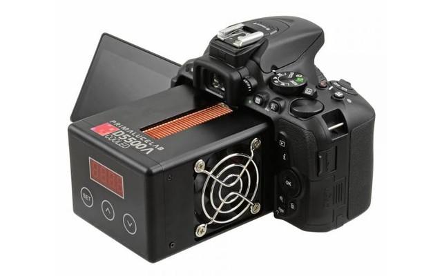 Un Nikon D5500 modifié permet de prendre des photos la nuit sans bruit