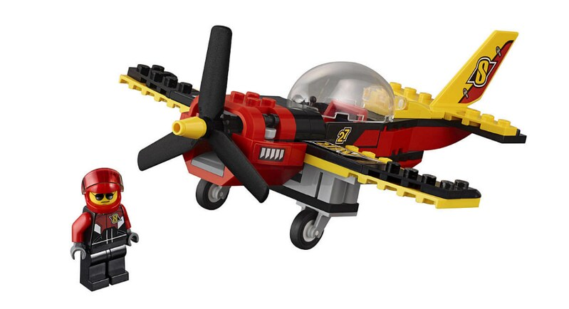 LEGO City 2017 - Race Plane (60144)
