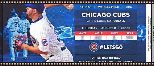 cubs ticket