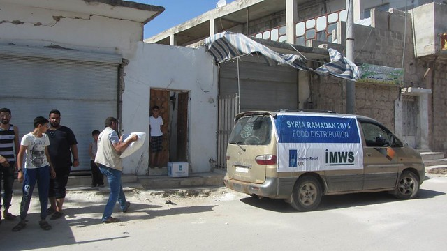 Ramadan 2016: Food Distribution in Palestine and Syria