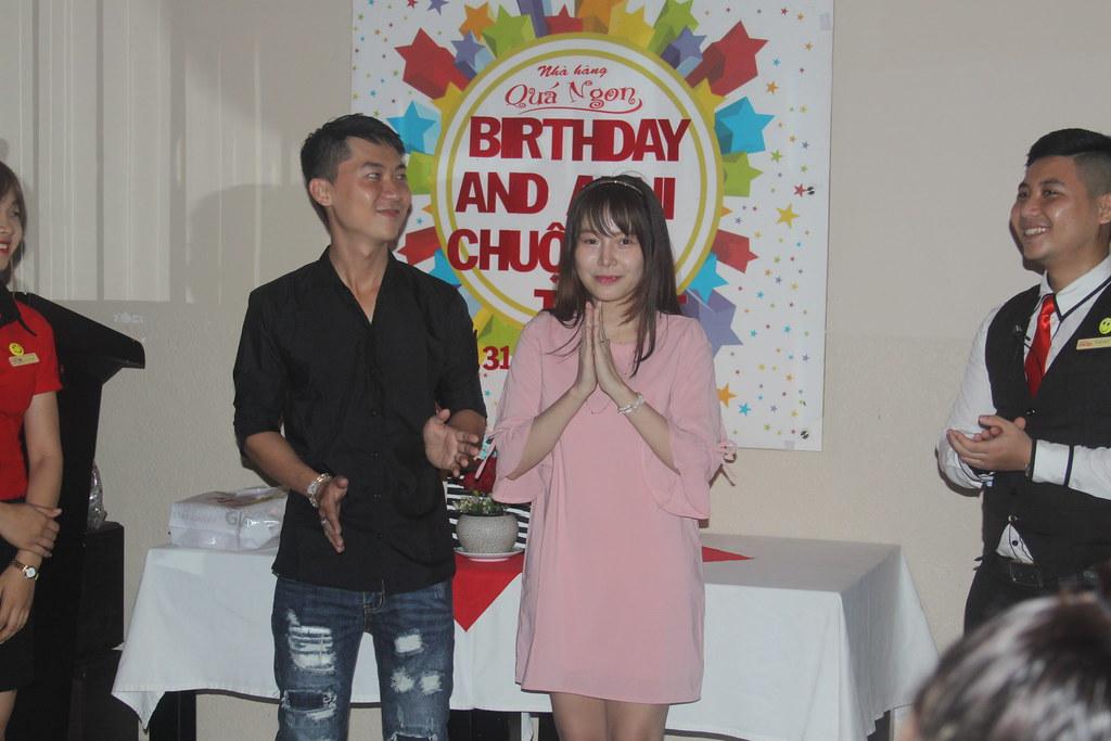 Tiệc sinh nhật Anni và Chuột Tuyết ngày 31/10/2016