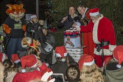 Ellesmere Port Christmas lights switch on