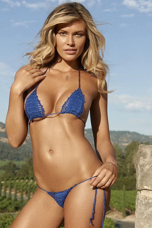 Горячая блондинка Саманта Хупс, американская модель - ПоЗиТиФфЧиК - сайт позитивного настроения!