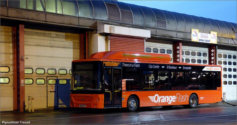 Plymouth Citybus 705 WX62HFU