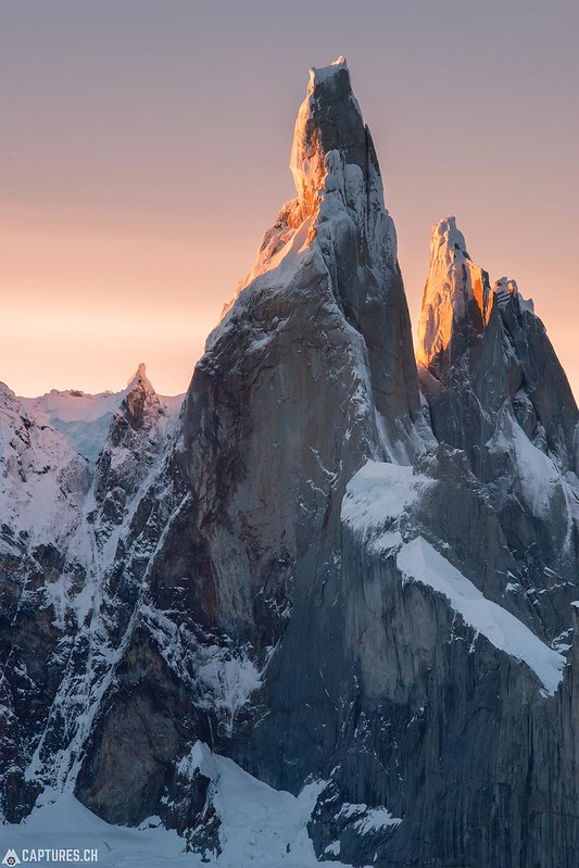 Cerro Torre at the sunset - El Chalten