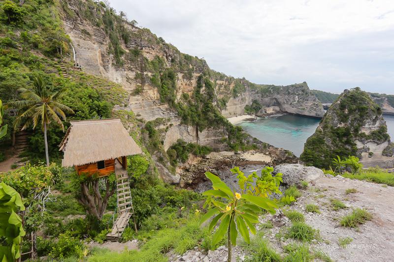 Rumah Kayu di Nusa Penida