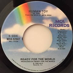 READY FOR THE WORLD:LOVE YOU DOWN(LABEL SIDE-B)