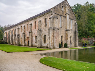 Schmiede und Fischteich Abbaye de Fontenay