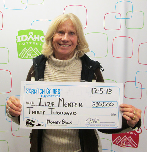 Ilze Merten - $30,000 Money Bags Cashword | by Idaho Lottery