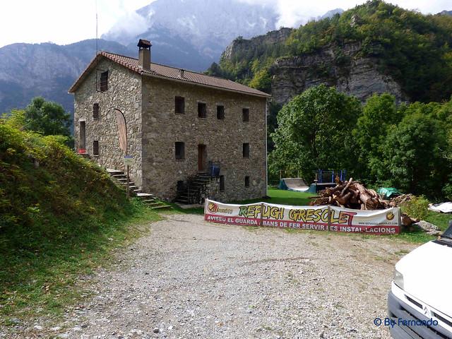 Gresolet a Bagà -18- Refugi Gressolet -02- Casa de Gresolet 01 (05-10-2016)
