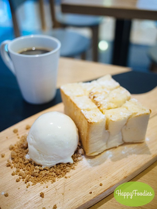 The Salted Egg Lava Toast