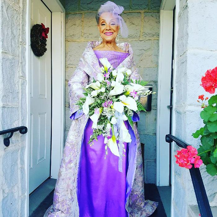 86-летняя невеста потрясла всех своим нарядом - ПоЗиТиФфЧиК - сайт позитивного настроения!