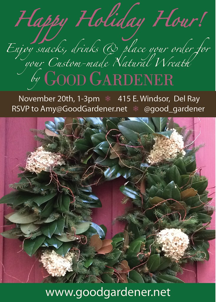 Natural Wreath Holiday Happy Hour (1)