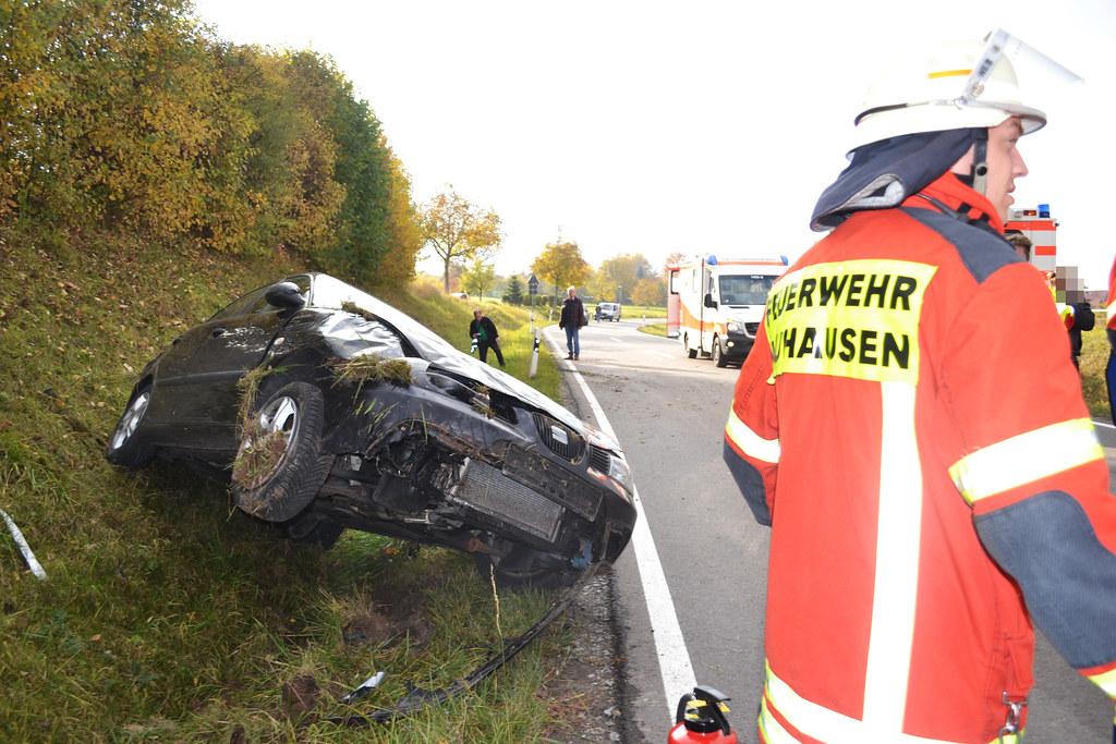 Neuhausen: Von der Straße abgekommen - 29.10.2016