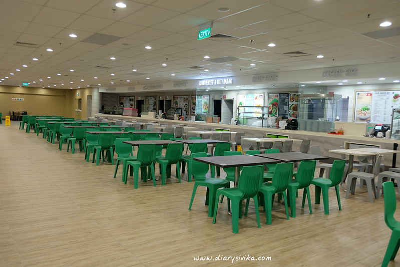 staff canteen changi airport T2 5